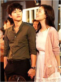 """Innocent Man"" - Moon Chae Won and Song Joong Ki"