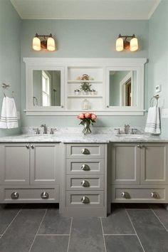 Best Color For Large Bathroom