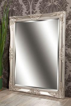 Spiegel Wandspiegel CELIA antik silber Barock 70 x 90 cm | Möbel & Wohnen, Dekoration, Spiegel | eBay!