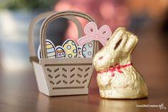 Anleitung für ein Mini-Osterkörbchen mit Produkten von Stampin' Up! www.love2becreative.de Big Shot, Lady Dior, Mini, Stampin Up, Bags, Basket, Easter Activities, Tutorials
