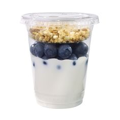 Wegmans Blueberry Greek Yogurt Parfait ❤ liked on Polyvore featuring food, breakfast and delicacies