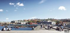 Lemvig Harbor Climate Adaptation, SLA Architects, Denmark, 2017