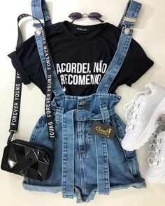 Source by tochanelforu tween outfits for summer Lazy Outfits, Cute Summer Outfits, Mode Outfits, Cute Casual Outfits, Outfits For Teens, Stylish Outfits, Girl Outfits, Hipster Outfits, Girls Fashion Clothes