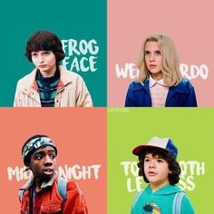 I LOVE MIDNIGHT,FROG FACE,WEIRDO,TOOTLESS,AND FROG FACE