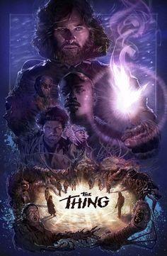 "spassundspiele: ""35th Anniversary of John Carpenter's The Thing – fan art by Chris Sears """