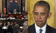57-43: Senate Completely Abolishes Obama's Pride And Joy, Law Gets Shredded By Majority Vote