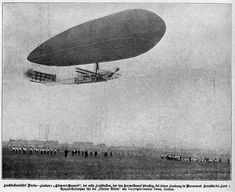 Airship Clément-Bayard No.2 arriving at Wormwood Scrubs, 16 October 1910. Central News), 1910 (National Gallery of Canada) first crossing of the English Channel by dirigible