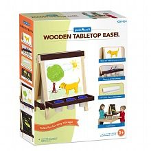 Guidecraft Wooden Tabletop Easel