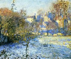 Claude Monet - Ghiaccio