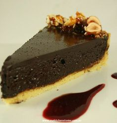 Deadly Chocolate Tart with 80% Callebaut | My Kitchen Stories