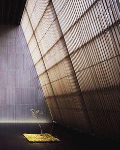 Oribe Tea house by Kengo Kuma Japanese Modern, Japanese Interior, Japanese House, Japanese Design, Japanese Style, Architecture Design, Japanese Architecture, Contemporary Architecture, Landscape Architecture