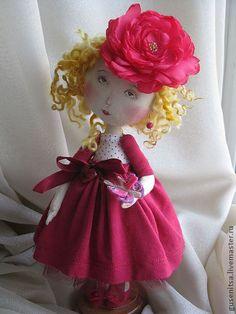 """Коллекционные куклы ручной работы. Ярмарка Мастеров - ручная работа """"Пожалуйста, не улетай..."""". Handmade."""