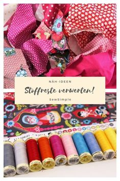 ᐅ recycle fabric scraps: 12 cool sewing ideas for fabric recycling scraps . - ᐅ recycle fabric scraps: 12 cool sewing ideas for fabric recycling residual material Recycle - Fabric Remnants, Fabric Scraps, Sewing Projects For Beginners, Knitting Projects, Recycling, Patchwork Blanket, Recycled Fabric, Textiles, Knitted Blankets