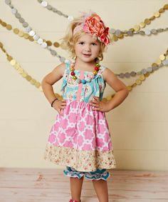 Love this Pink Quatrefoil Jumper - Toddler & Girls by Oopsie Daisy on #zulily! #zulilyfinds