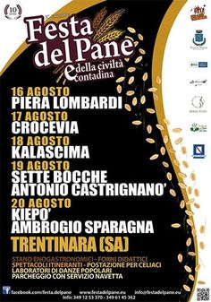 Festa del Pane a Trentinara, dal 16 al 20 agosto 2014 #cilento #trentinara #eventi #pieralombardi #kiepò  http://www.portarosa.it/festa-del-pane-a-trentinara-dal-16-al-20-agosto-2014.html