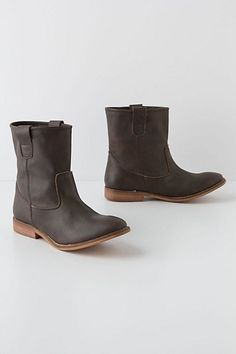 Morgana Suede Mid-Boots #anthropologie