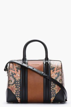 Givenchy Brown New Line Printed Paisley Bag in Brown | Lyst