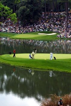 Augusta National, home of the Masters. this one's for my hubby.... headed there in April!
