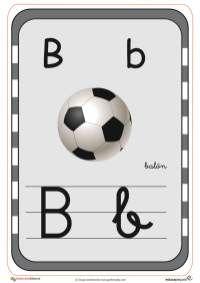 abecedario en color b Teaching The Alphabet, Working With Children, Soccer Ball, Activities For Kids, Kindergarten, Preschool, Flash, Victor Hugo, Montessori