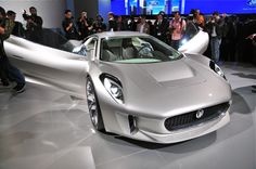 Jaguar C-X75 Concept -WOW, now that's a car!!!