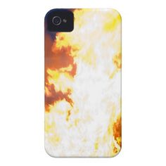 Burning iPhone 4 case Barely there iPhone 4 Cover