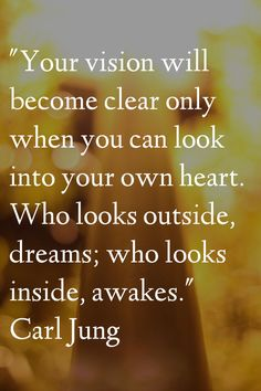 wisdom from Carl Jung