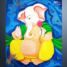 Artist: Ghanshyam Kashyap Size: X inch (WxH) Painting: Acrylic on Canvas Artwork: Original Canvas Artwork, Hanging Art, Wallpaper, Culture Art, Canvas, Painting, Ganesha Art, Original Artists, Art