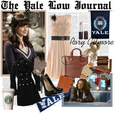 """""""Rory Gilmore"""" by alexandra-phoenix ❤ liked on Polyvore"""