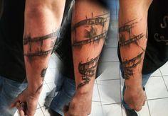 Filmstrip tattoo