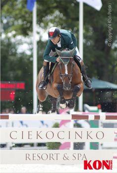 Mściwoj Kiecoń, Pałac Ciekocinko, Baltica Equestrian Tour 2014 fot. Stanisław Kozioł Portal Koń Polski | Hortpress