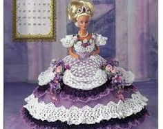 free barbie crochet patterns ball gowns - Google Search