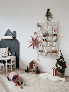 Weihnachten im Kinderzimmer #kidsroom #weihnachtsdeko #adventskalender