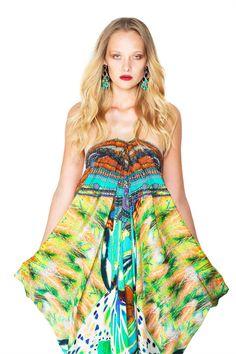 Multi Wear Long Lace-Up Caftan Dress and Designer Dresses