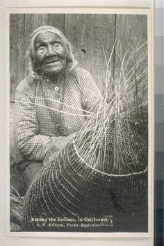 A Yurok woman.