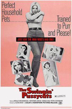 The Swingin' Pussycats - 1969 - Movie Poster