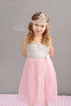 Pink Sequin Dress - Twirl Pink Dress - Sparkle Dress - Elsa - Frozen - Birthday Dress Toddler - Girl Sun Dress - Tulle -Tutu - toddler - gif by MJfordiva