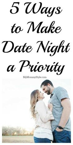 Making the effort to date your spouse makes all the different in marital bliss. Even with the kids running around here are 5 Ways to Make Date Night a Priority