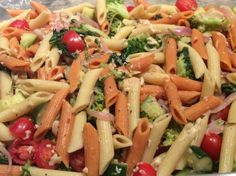 Penne Pasta With Vegetables Recipe - I replaced the penne with spaghetti squash, added 1/2 tsp of basil (because I love basil), and it was amazing!