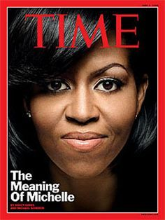 "First Lady Michelle Obama on the cover of ""Time"" magazine. Michelle Und Barack Obama, Michelle Obama Fashion, Barack Obama Family, Obamas Family, Joe Biden, Durham, Michelle Obama Pictures, New Eminem, World Press Photo"