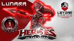 Heroes of the Storm Ranked Gameplay - Lunara, Poke Build (Rank 1 HotS He...