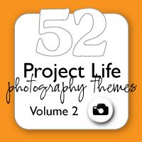 52 Project Life photography themes - one for every week of the year!