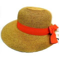 Dorfman Straw Face Saver Hat with Wide Front Brim and Ribbon Trim by Capelli-Available in Several Colors  stylish golf visors, sun visors, kate lord sun hats, kate lord sun visors, town talk sun visors, sun visors, sun hats, sun protection, sun protection golf visors, beach hats, beach visors, beach large visors, golf hats, golf floppy hats, golf sun protection, stylish golf hats, stylish golf visors, hats with large brim, large brim visors, large brim small visors, small visors, small sun…