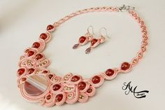 Soutache necklace by AMDesign