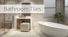 bathroom tiles images - Google Search Bathroom Tiles Images, Bathroom Designs, Tiles Uk, Kitchen Wall Tiles, Floor Decor, Porcelain Tile, Tile Design, Bathtub, Flooring