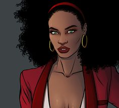 chrispandart:  Here come a Glimpse of My fashion version of Misty Knight To see the full version click on it and go on my kistarter artbook page update to see it https://www.kickstarter.com/projects/1741342043/kicking-ass-and-wearing-heels-the-fashion-art-of-c