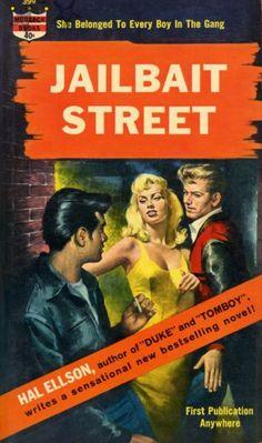Juvenile Delinquent Paperback Covers