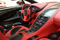 Aston Martin One 77 Q Series.... Whyyyyy with the red and black?!?