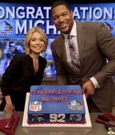 Michael Strahan saluted on 'Live With Kelly and Michael' for Hall of Fame honor  http://www.examiner.com/article/michael-strahan-saluted-on-live-with-kelly-and-michael-for-hall-of-fame-honor?CID=examiner_alerts_article&no_cache=1391473468