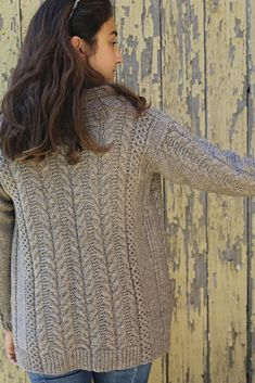 Ravelry: The Oban Cardigan pattern by Thea Colman Sweater Knitting Patterns, Cardigan Pattern, Knitting Designs, Knit Cardigan, Knitting Ideas, Knitting Stitches, Knitting Projects, Knit Stitches For Beginners, Hand Knitted Sweaters