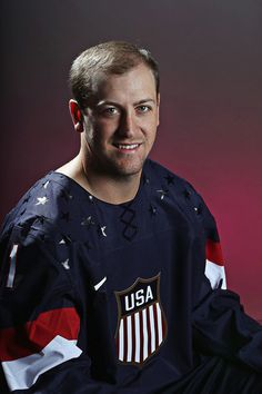 Derek Stepan - 2014 USA Hockey Olympic Portraits